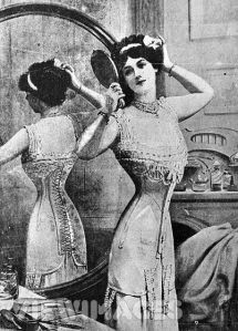 tailored- edwardian corset
